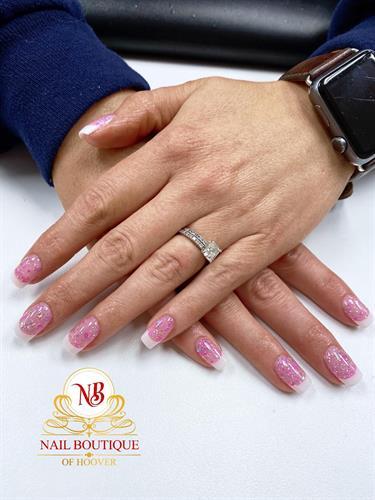 French dipping powder nails