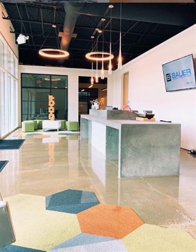 Worx Lakeshore Commons Lobby