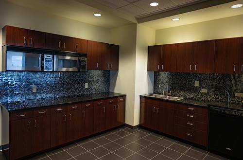 Executive Board Room - adjacent kitchen - Horizon 17th floor