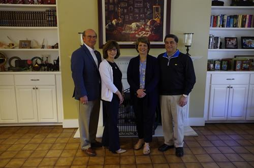 Mayor and Mrs. Frank Brocato, Mr and Mrs. Carlo Joseph
