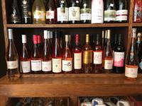 The 5 Senses offers a varied wine selection.  This is a sample of the beautiful summer Rose from Calif, Germany , Italy and France. ps these are full of flavor and not sweet!