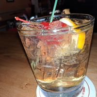 Try a Gastropub Old Fashioned, made with apple brandy