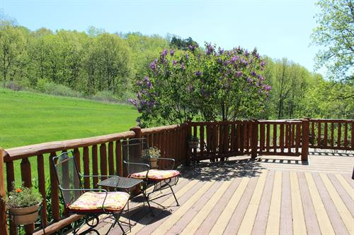 Ample outdoor space