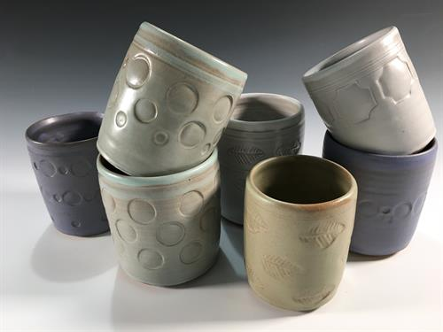 stamped tumblers