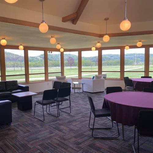 East Classroom/Meeting Room with stunning valley views