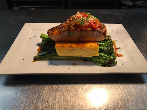 Peppercorn Salmon