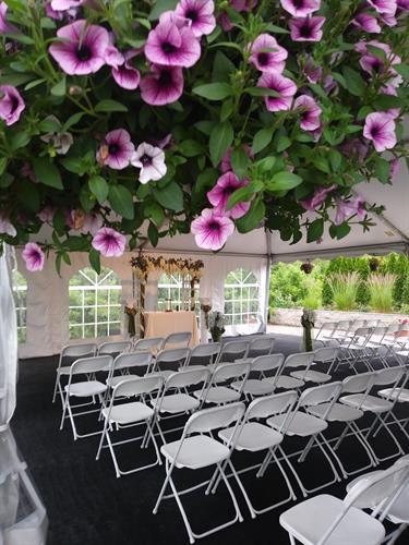 Parkway's romantic ceremony area
