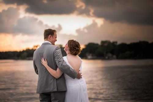 Love on Parkway Banquet's lakefront - beautiful!