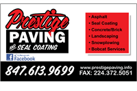 Prestige Paving & Seal Coating