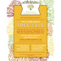 Hart Co. Botanical Garden Fall Pre-Sale Tree Sale