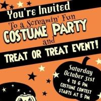 Halloween Party and Treat or Treat Event