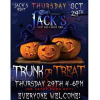 Trunk or Treat @ Jack's