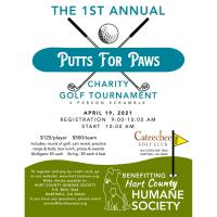 Putts for Paws Golf Tournament