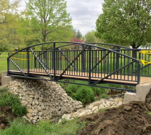 Golf Course Cart Bridge