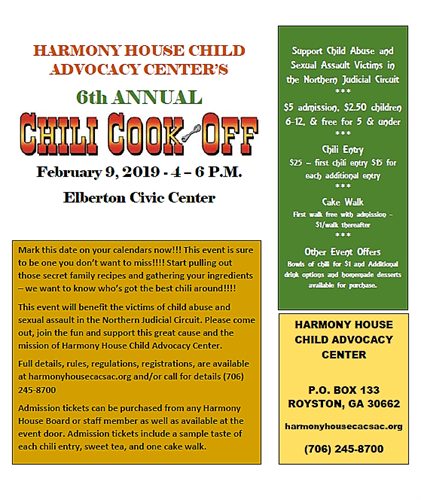 Chili Cook-Off 2019