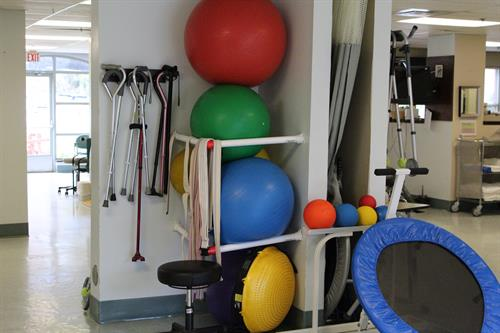 Rehabilitation supplies for just about any exercise