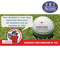 2020 Travelers Championship Birdies for Charity Program Matches Donations to Access