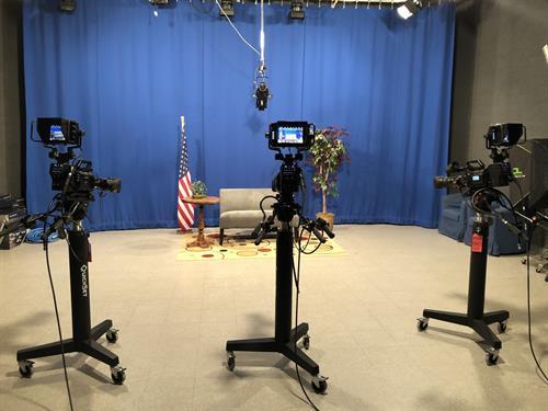 4K Blackmagic Studio Production Cameras