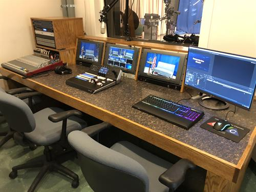 4K Blackmagic Control Room