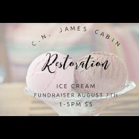 Ice Cream Fundraiser - C.N. James Cabin