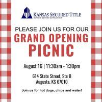 Kansas Secured Title Grand Opening Picnic