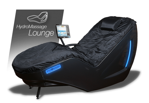 Sit back as 20 gallons of heated water massage your entire backside. From the base of your skull to your ankles, hydromassage has you covered! Stay dry and clothed while the soothing warmed water massages at the pressure you control