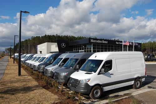 Over 75 Brand-New, upfitted Mercedes-Benz Vans to choose from