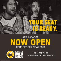 Buffalo Wild Wings® in Cane Bay Is Set to Open on Friday, September 17th