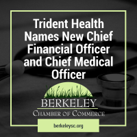 Trident Health Names New Chief Financial Officer and Chief Medical Officer