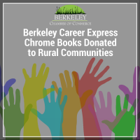 Berkeley Career Express Chrome Books Donated to Rural Communities