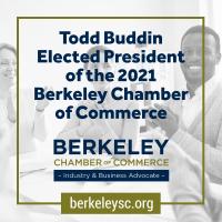 Todd Buddin Elected 2021 Berkeley Chamber of Commerce President