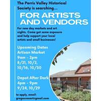 Perris Depot Artisan Market