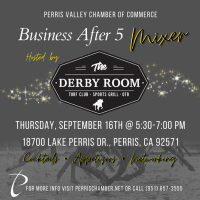 Business After 5 Mixer at The Derby Room