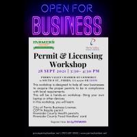 Permit & Licensing Workshop