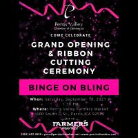 Grand Opening: Binge on Bling