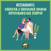 Outdoor & Sidewalk Dining Temporary Use Permit