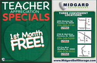 Teacher Appreciation Promotion