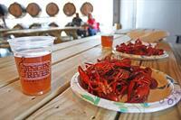 Cajun Seafood Boil @ Singin River  Brewing Co.