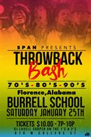 SPAN of Lauderdale County Fundraiser / Throwback Bash