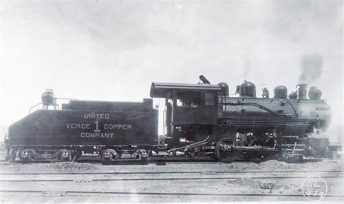 United Verde Copper Company train