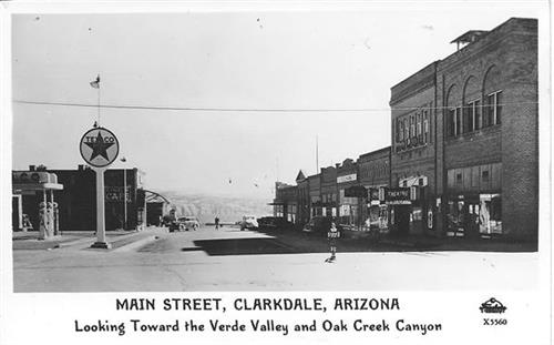 Historic Main Street Clarkdale