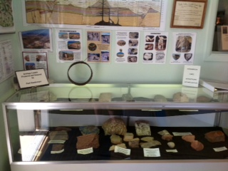 Paul Handverger's Geological display
