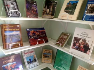 Museum Bookstore, many autographed copies in stock.