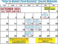 Your October Free Marketing Webinars