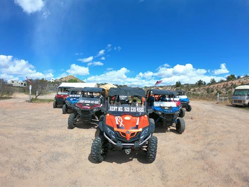 Check out our beautiful Fleet