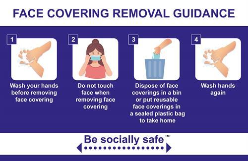 BE SOCIALLY SAFE