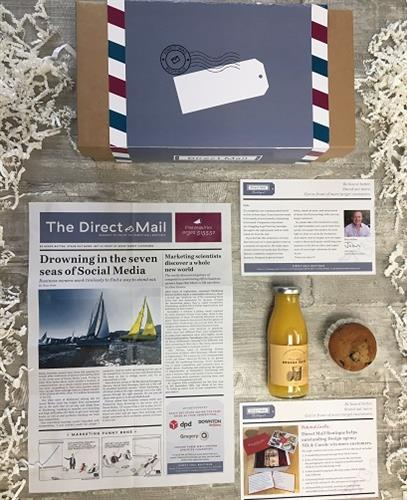 Direct Mail Boutique - big format Direct Mail box for us