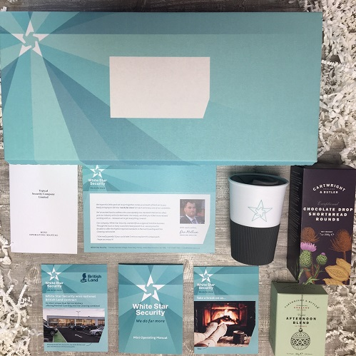 Direct Mail Boutique - big format Direct Mail box for White Star Security