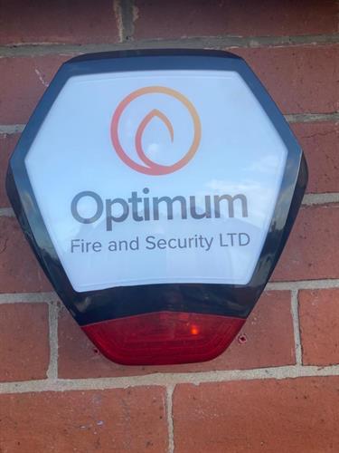 Optimum Fire & Security Bell Box