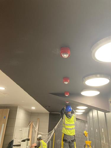 A lovely job installing a GENT system in a cinema in Beeston